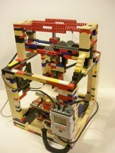 LEGObot - imprimanta 3D