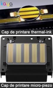 capete de printare thermal-ink micro-piezo cerneala imprimante